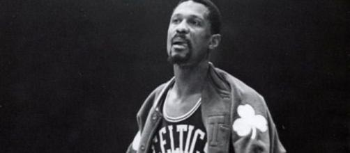 Bill Russell en NBA, c'est 11 titres de champion (Credit : Twitter NBA)