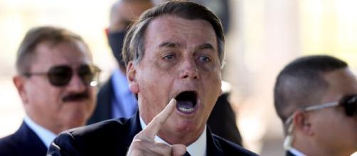 Bolsonaro acusa Moro de crime federal. (Arquivo Blasting News)
