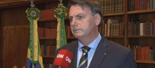 Bolsonaro faz provocação à Globo em discurs. (Reprodução/CNN)