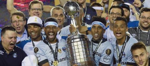 Campeão em 2017, o Grêmio é o clube brasileiro com mais vitórias em Libertadores. (Arquivo Blasting News)