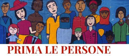 """Casa della Carità - 2 marzo, in piazza per dire """"Prima le persone""""."""