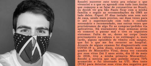 Juliano Laham relata drama após contrair covid-19. (Reprodução/Instagram/@julianolaham)