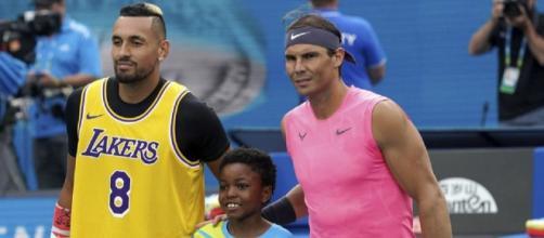 Nick Kyrgios e Rafa Nadal in diretta su IG? La proposta arriva dalla BBC.