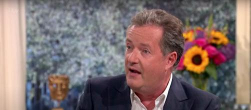 Piers Morgan on his world exclusive interview with President Donald Trump. [Image Source: ThisMorning/YouTube]