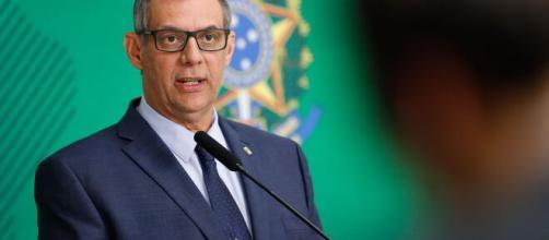 Porta-voz de Bolsonaro, Otávio do Rêgo Barros contraiu coronavírus. (Arquivo Blasting News)