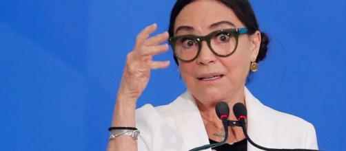 Regina Duarte recebeu críticas de Bolsonaro. (Arquivo Blasting News)