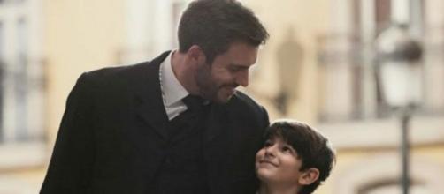 Spoiler Una Vita: Telmo pensa che Mateo sia suo figlio.