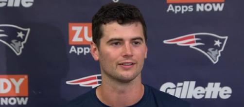 Stidham was the Patriots' fourth round pick in the 2019 NFL Draft (Image Credit: New England Patriots/YouTube)