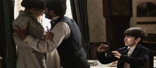 Una Vita, trame Spagna: Eduardo punisce Mateo.