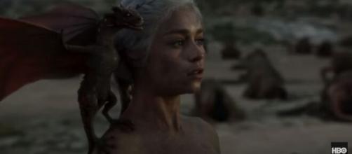 Emilia Clarke, viveu Daenerys na série (Reprodução/HBO)