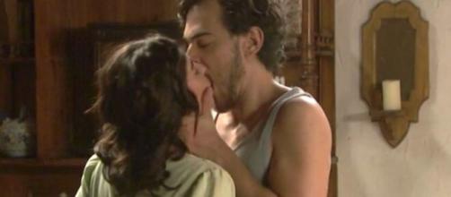 Il Segreto, trama dall'11 al 16 maggio: Matias tradisce la moglie con Alicia