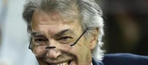 Massimo Moratti, ex presidente dell'Inter.