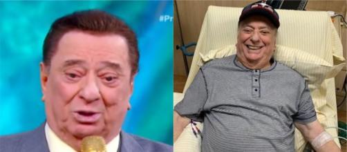 Raul Gil canta ópera no hospital após cirurgia no pulmão. (Arquivo Blasting News)