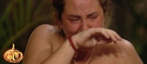 Rocío Flores ha llorado en varias ocasiones en Supervivientes