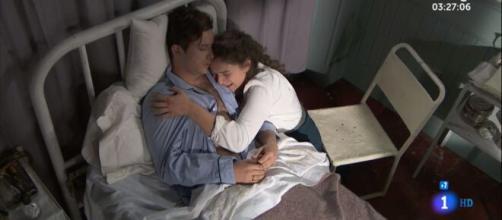 Una vita, anticipazioni spagnole: Samuel muore tra le braccia di Genoveva.