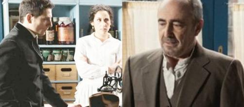 Una Vita, trame al 15 maggio: Antonito incita Ramon a reagire agli insulti di Felipe