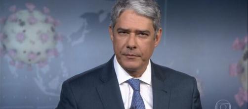 Bonner deixa 'boa noite' de lado e emociona o público em meio à pandemia. (Reprodução/TV Globo)