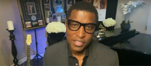 "Kenneth ""Babyface"" Edmonds shared the birth of his first new song in five years on ""CBS This Morning.[Image source:CBS-YouTube]"