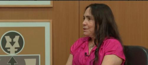 Regina Duarte se irrita na CNN Brasil. (Arquivo Blasting News)