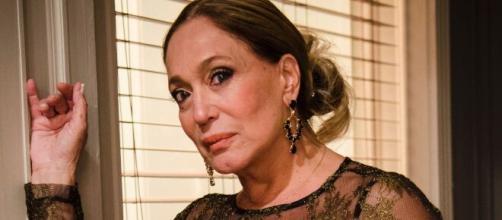 Susana Vieira fala sobre os seus cuidados com a beleza durante transmissão ao vivo. ( Arquivo Blasting News )