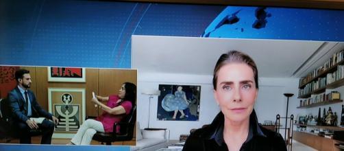 Vídeo de Maitê Proença provoca ira de Regina Duarte em entrevista. (Reprodução/CNN)