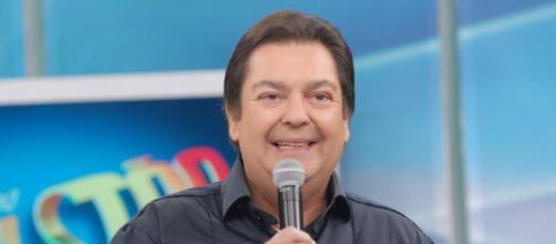 Faustão á apresentador da TV Globo. (Reprodução/TV Globo)