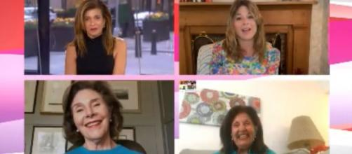 """Hoda Kotb, Jenna Bush Hager and more """"Today"""" moms share Mother's Day love through unprecedented times.[Image source:TODAY-YouTube]"""