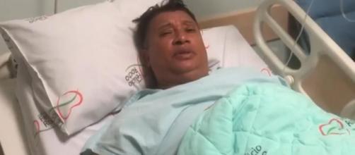 Pedro Manso se encontra internado em um hospital em Belo Horizonte. (Reprodução/Instagram/@pedromansooficial)