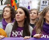 Una grabación a la número dos de Podemos deja en entredicho la convocatoria de 8-M