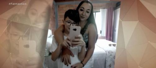 A mãe do menino, Alexandra Dougokenski, confessou o crime. (Reprodução/TV Globo)