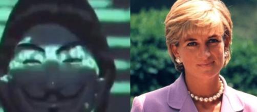 Anonymous y Diana de Gales en imagen