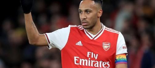 Pierre-Emerick Aubameyang, attaccante dell'Arsenal.