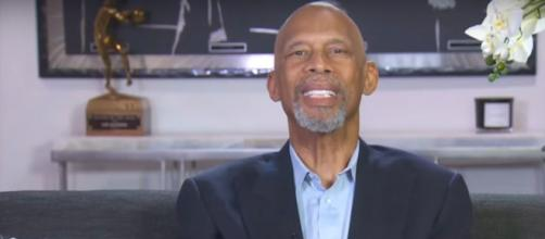 "Kareem Abdul-Jabbar probes into George Floyd protesters true aims on ""CBS This Morning"" and in powerful essay.[Image source:CBS-YouTube"