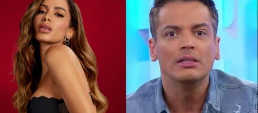 Leo Dias vaza suposto novo áudio de Anitta. (Arquivo Blasting News)