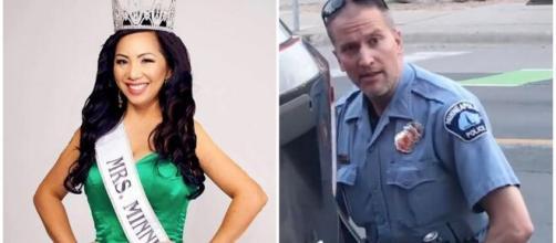 Mulher de policial que matou George Floyd pede divórcio. (Arquivo Blasting News)