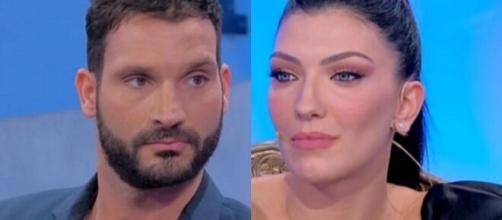 Uomini e Donne, secondo le indiscrezioni di Deianira Marzano Sammy potrebbe essere ancora legato alla sua ex, ma lui nega.