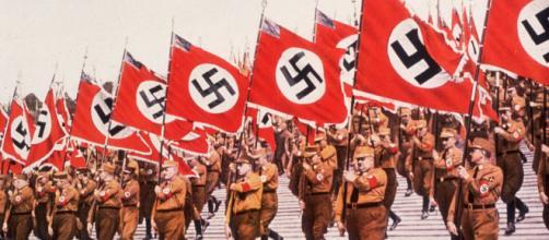 Desfile en Alemania de las tropas del Tercer Reich