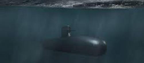Imagen recreada del Submarino S-80 en acción. Sus prestaciones han impresionado a la Armada aunque no ha sido botado aún