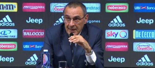 Juventus, parla Maurizio Sarri.