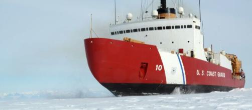 U.S. Steps Up Battle for Arctic Control With Plans for Icebreaker ... (Image via Cbsnews/Youtube)