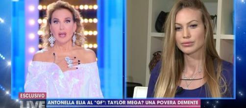 Barbara d'Urso perdona Taylor Mega a Live: 'Mi ha chiesto scusa'.