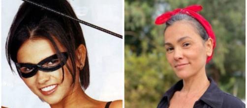 Ex-Tiazinha e musa nos anos 90, Susana Alves assumiu os fios brancos. Foto: Arquivo Blasting News