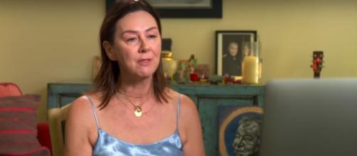 """Fiona Whelan Prine describes the still """"difficult"""" process of honoring her late husband, John Prine. [Image Source: CBS/YouTube]"""