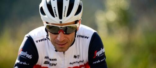Vincenzo Nibali, primi test post-lockdown al centro sportivo Mapei.
