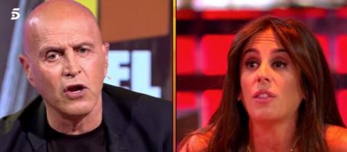 Kiko Matamoros contra Anabel Pantoja en el plató de Telecinco