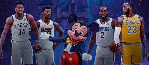 NBA : la fin de saison à Orlando (Credit : Twitter NBA)