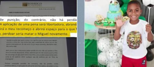 O menino Miguel estava sob a guarda de Sarí Corte no momento do acidente. (Arquivo Blasting News)