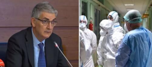 Silvio Brusaferro, presidente dell'Istituto superiore di sanità.