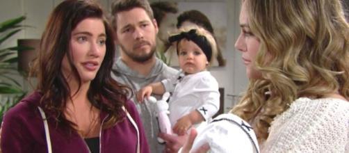Beautiful, trame al 27 giugno: Logan e Spencer stanno per divorziare, ma l'Avant li ferma.