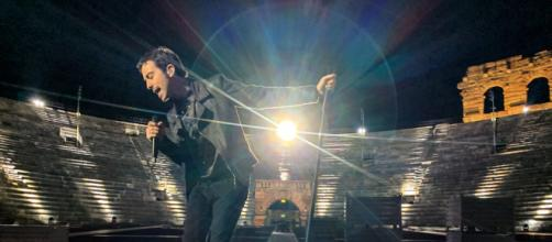 """Diodato torna finalmente a """"far rumore"""" dal vivo."""